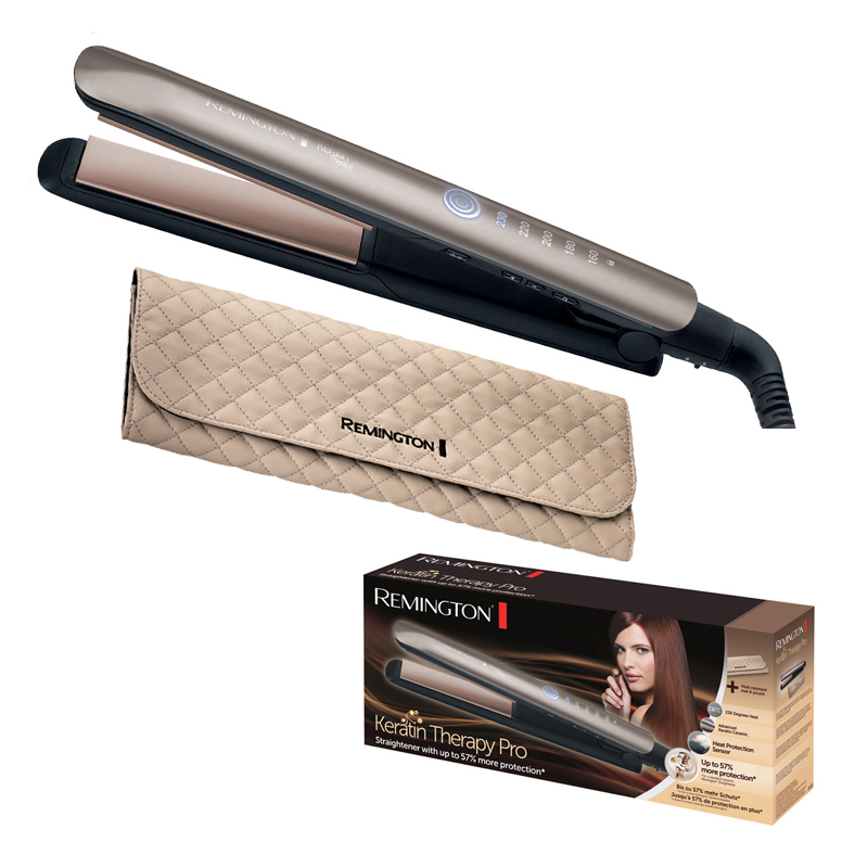Remington - S8590 - Lisseur Keratin Therapy