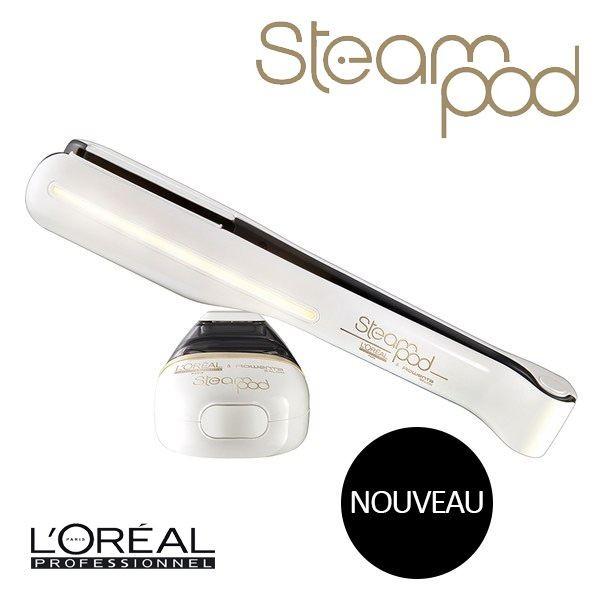 Test du lisseur L'Oréal Professionnel Steampod 2.0 Lisseur Blanc